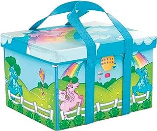 Everyday Princess ZipBin 40 Pony Rainbow Park w/ 1 Pony