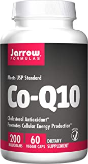 Jarrow Formulas Co-Q10, Promotes Cellular Energy Production, 200 mg, 60 Caps