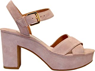 Luxury Fashion | L'autre Chose Women LDJ06395GP04488047 Pink Suede Sandals | Autumn-winter 19
