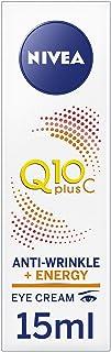 NIVEA Q10 plus C Anti-Wrinkle + Energy Eye Cream, Anti-