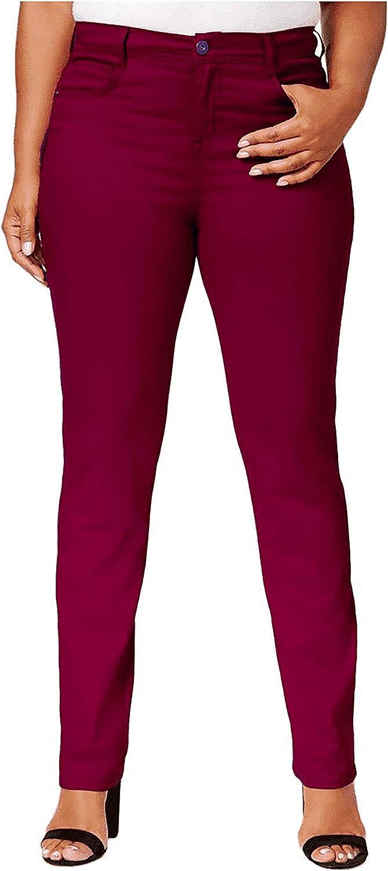 Macy's Style Co Women's Plus Tummy Control Slim Leg Stretch Leggings Jean