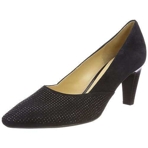 e59ec3154e0 Blue Leather Court Shoe: Amazon.co.uk