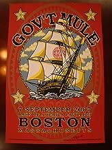 Gov't Mule Warren Haynes Music Poster Gov't Mule Boston 07 Johannsen