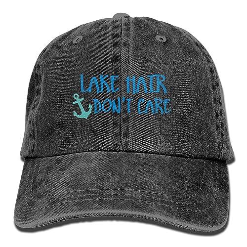 49773fd2bb801 Buyiyang 01 Men s Or Women s Lake Hair Don t Care Denim Jeanet Baseball Hat