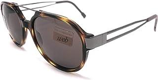 WEB - 2519 - Gafas de sol para hombre y mujer, talla grande, tortuga O213L/63