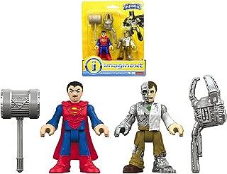 Superman & Metallo Imaginext Figures 2.5