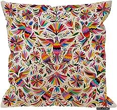 HGOD DESIGNS Mexican Design Colorful Pigeons Pheasant Pillow Case 18