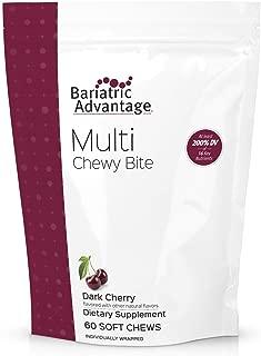 Bariatric Advantage - Multi Chewy Bite - Dark Cherry, 60 Count