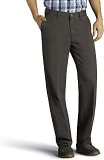 Men's Big & Tall Total Freedom Stretch Relaxed Fit Flat Front Pant