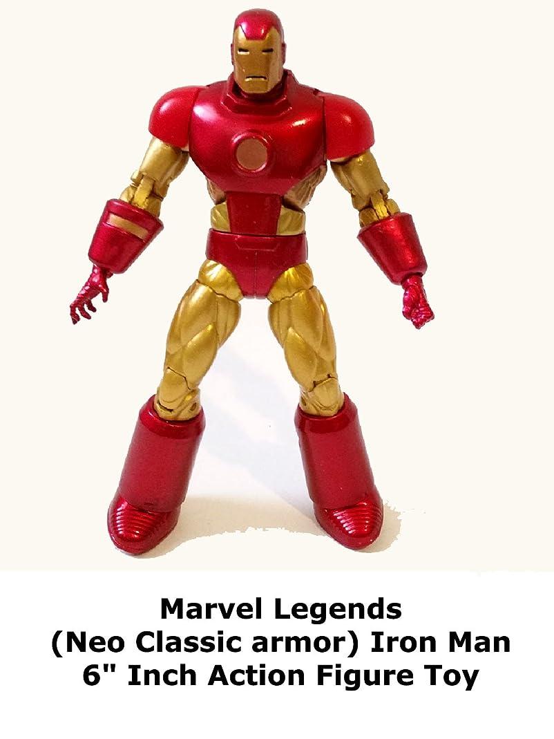 打ち負かす引くパリティReview: Marvel Legends (Neo Classic armor) Iron Man 6