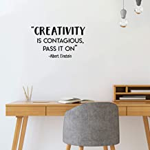 Best creativity is contagious pass it on albert einstein Reviews