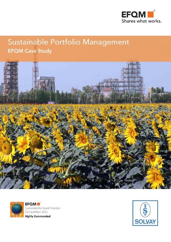 Solvay's Sustainable Portfolio Management