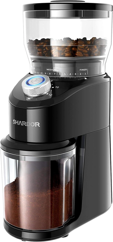 Classic SHARDOR Conical Burr Coffee Electric Manufacturer direct delivery Adjustable Mi Grinder