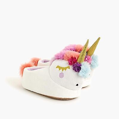 crewcuts by J.Crew Unicorn Slipper (Toddler/Little Kid/Big Kid) (Unicorn Multi) Girl