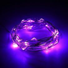 Omabeta Doe-het-zelf koudlichtbron LED-licht voor tuin vakantie decoratie (paars)