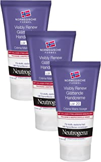 Neutrogena Visible Renew Crema De Manos - 3 Unidades x 75 ml.