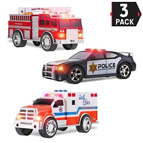 Police Car with Lights and Siren: Amazon com