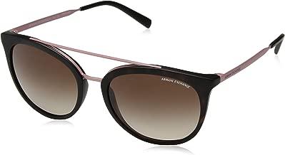 A|X Armani Exchange Women's AX4068S Round Sunglasses