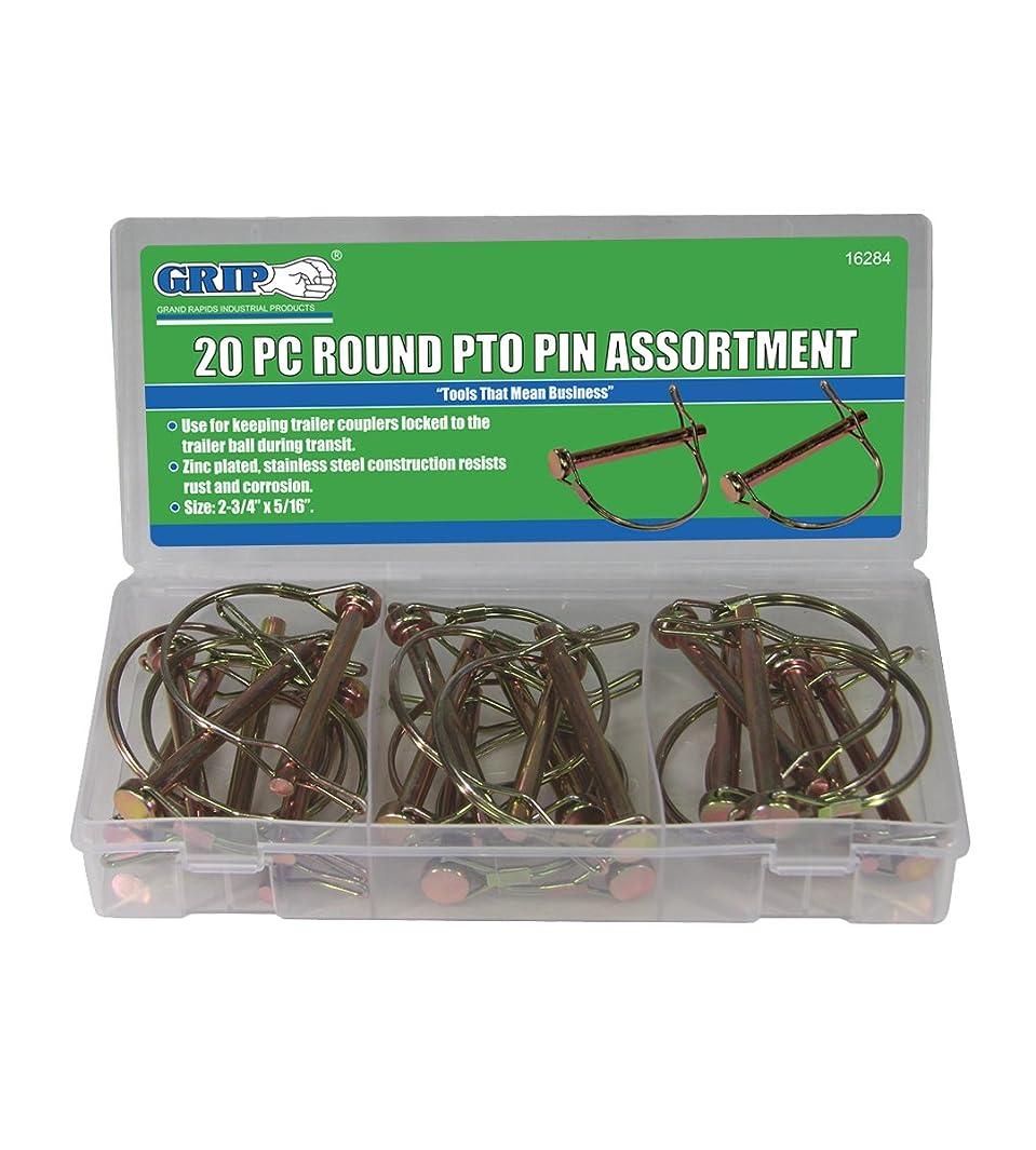 Grip Lynch Pin Assortments (20 pc Round PTO)