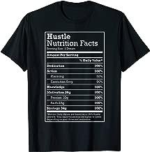 Hustle Nutrition Facts t-shirt for Hustle Hard Hip Hop Fans T-Shirt