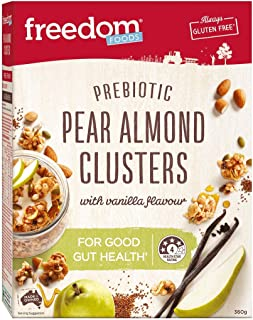 Freedom Foods Pear Almond Clusters, 360g