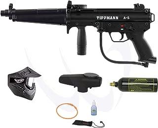 TIPPMANN A5 A-5 Paintball Marker Gun w/ Flatline Entry Combo Package Set