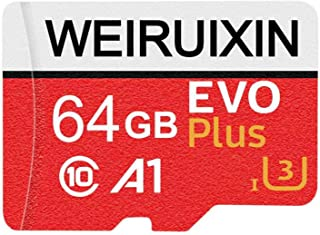 WRXメモリカード64GB 超高速60MB/s Nintendo Switch 動作確認済 Class10 UHS-I Androidスマートフォン デジカメ対応 超高速転送 (64GB)