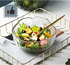 PIXNOR 6pcs Glass Appetizer Plate Apple Shape Sauce Dish Crystal Clear Fruit Candy Tray Seasoning Dipping Bowl Snack Serving Plate Bowl for Dessert Ketchup Salad