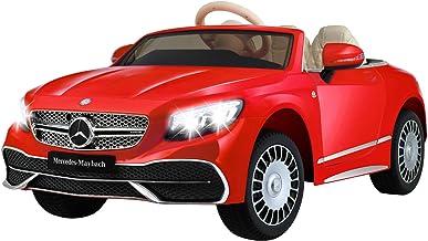 Uenjoy Kids Electric Car Mercedes-Benz Maybach Ride On Car, Remote Control, Battery Car, EVA Tire, Leather Seat, Key Start...