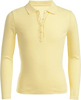 Girls' Long Sleeve Polo