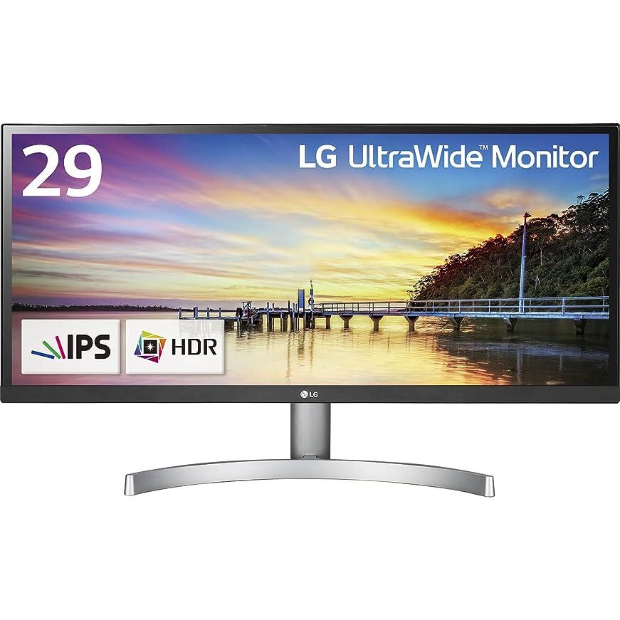 スペインボランティア中性LG モニター ディスプレイ 29WK600-W 29インチ/21:9 ウルトラワイド/HDR対応/IPS 非光沢/HDMI×2、DisplayPort/スピーカー搭載