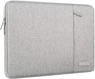 MOSISO Funda Protectora Compatible con 13-13.3 Pulgadas MacBook Air//MacBook Pro Retina//Surface Laptop//Book M/ármol Azul Agua Bolsa de Hombro Patr/ón Malet/ín Bandolera con Cintur/ón de Carro