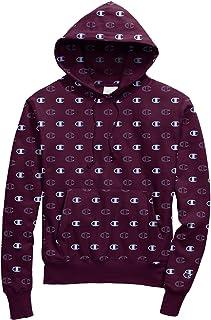 Champion LIFE Mens S2974 Reverse Weave® with Hood - Tossed C Logos Hooded Sweatshirt