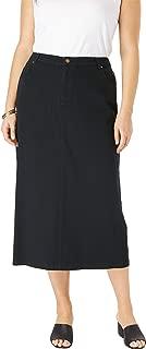 Best black long jean skirt Reviews