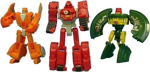 Transformers Henkei C-19 3-pack Minibot Spy Team - Cosmos Wheelie & Warpath Figures