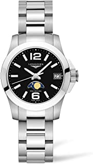 [浪琴]LONGINES 手表 空洞系列 石英表 月相 L3.380.4.58.6 男士 【正规进口商品】