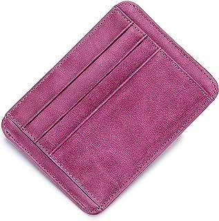 9dc7fe43a9 Turshell Portafogli Uomo Slim Portafoglio Piccolo Uomo Donna Sottile Mini  Portafoglio Porta Soldi Uomo Carta Di