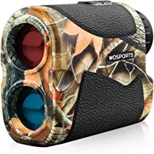 Wosports Hunting Range Finder, 700 Yards Archery Laser Rangefinder for Bow Hunting with Flagpole Lock - Ranging - Speed an...