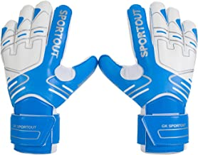 Youth&Adult Goalie Goalkeeper Gloves,Strong Grip for The Toughest Saves, with Finger Spines to Give Splendid Protection to Prevent Injuries,3 Colors