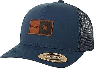 Hurley Men's Baseball Cap - Fairway Trucker Curved Brim Snap-Back Trucker Hat