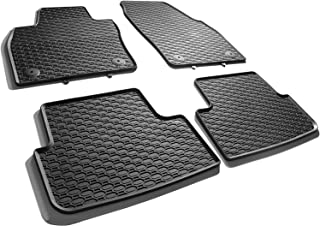 All4You Gummimatten Original Qualität Fußmatten 100% passgenau Schwarz Gummi 4 teilig fahrzeugspezifisch