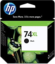HP 74XL | Ink Cartridge | Black | Works with HP DeskJet D4260, HP OfficeJet J5788, J6480, HP Photosmart C4300 series, C440...