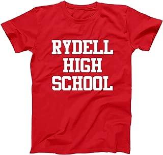 Rydell High School Funny Old School Retro Grease 70s Humor Mens Shirt