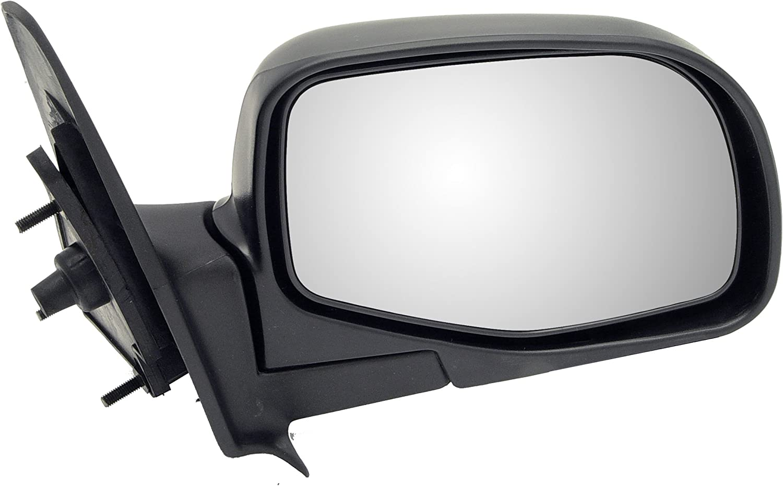 Dorman 955-007 Passenger Side Manual Door Mirror Folding for Select Ford Models Black