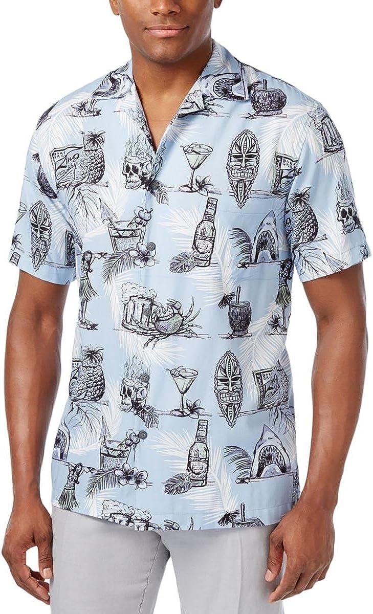 Newport Blue Mens On The Rock Button Up Shirt
