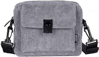 Kwok Women Canvas Shoulder Bag Fashion Trend Versatile Messenger Bag Crossbody Bag Shoulder Bag Handbag Leisure Bag Wallet Mobile Phone Bag