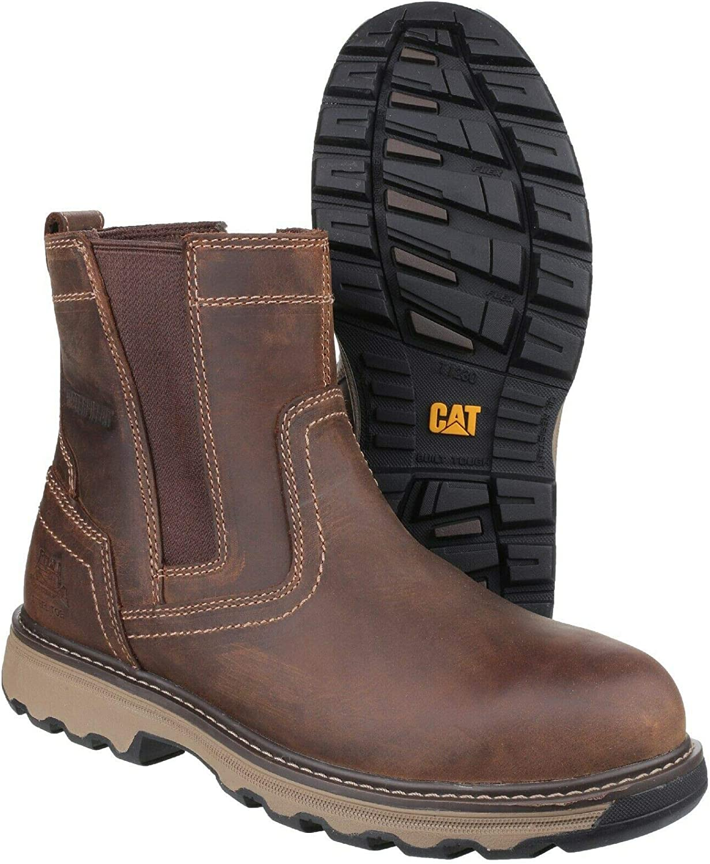Caterpillar Caterpillar Workwear Pelton, Unisex Erwachsene Chelsea Stiefel  billig