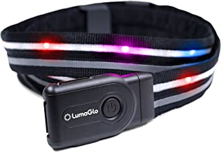 featured product LumaGlo LED Crossbelt - Reflective and Light Up Belt- Great for Kids Walking Home from School, Cycling, Running, Motorcycles, and Walking Your Dog at Night