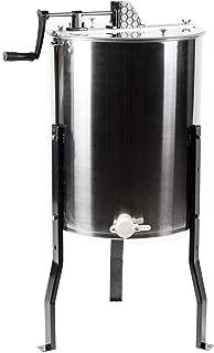 VIVO Large 3 Frame Stainless Steel Honey Extractor SS Model (BEE-V003D)