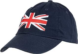 Union Jack Flag | UK United Kingdom Great Britain British Baseball Cap Dad Hat Navy Blue